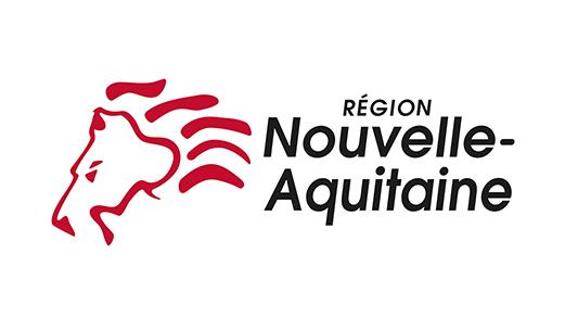 La région Nouvelle Aquitaine est notre partenaire